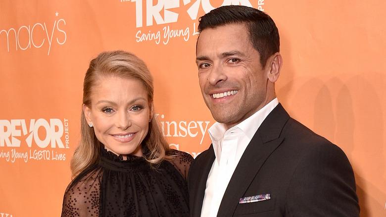 TV host Kelly Ripa and husband Mark Consuelos