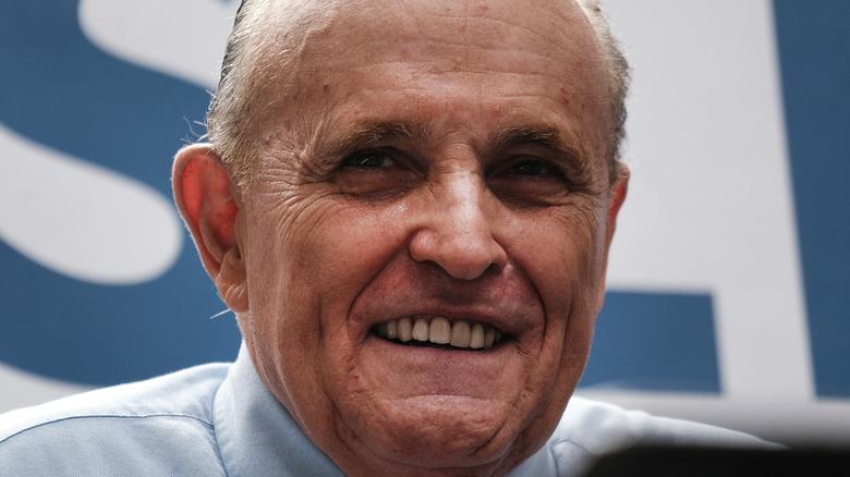 Rudy Giuliani at event