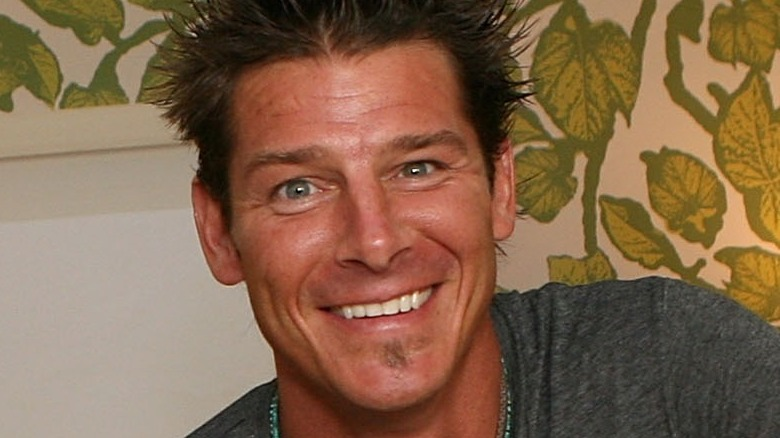 Ty Pennington smiling in a house