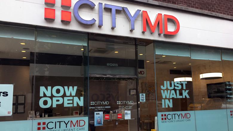 City MD urgent care building