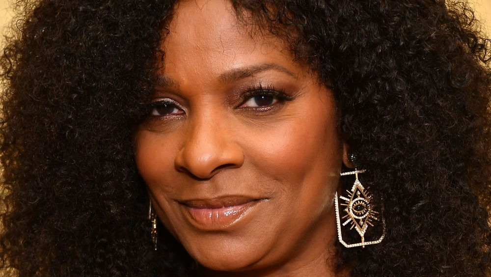 Vanessa Bell Calloway with earrings