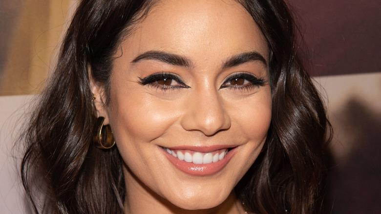 Vanessa Hudgens smiling