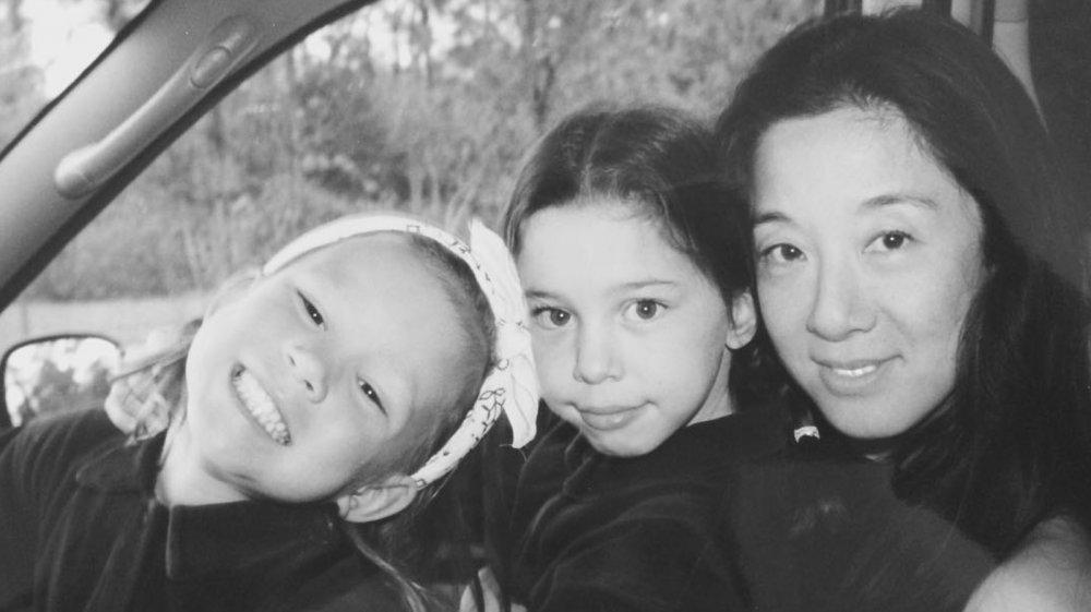 Vera Wang, Cecilia Becker, and Josephine Becker