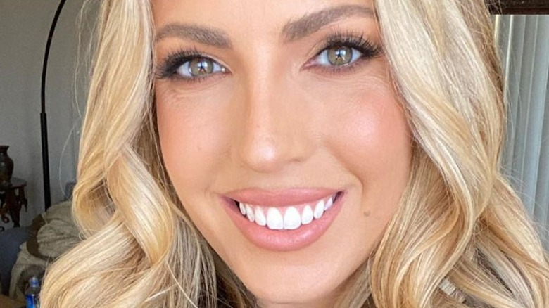 Victoria Larson with blonde hair