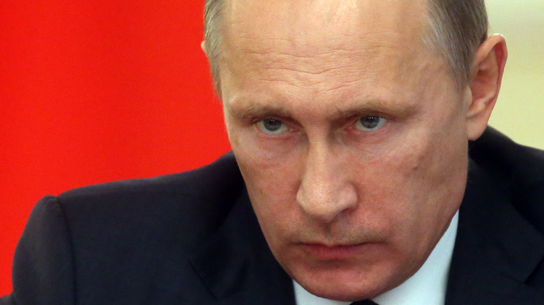 Vladimir Putin at press conference