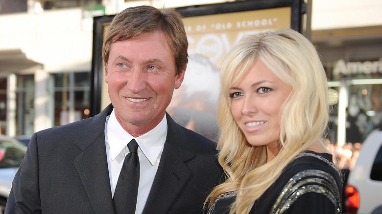 Paulina Gretzky and Wayne Gretzky