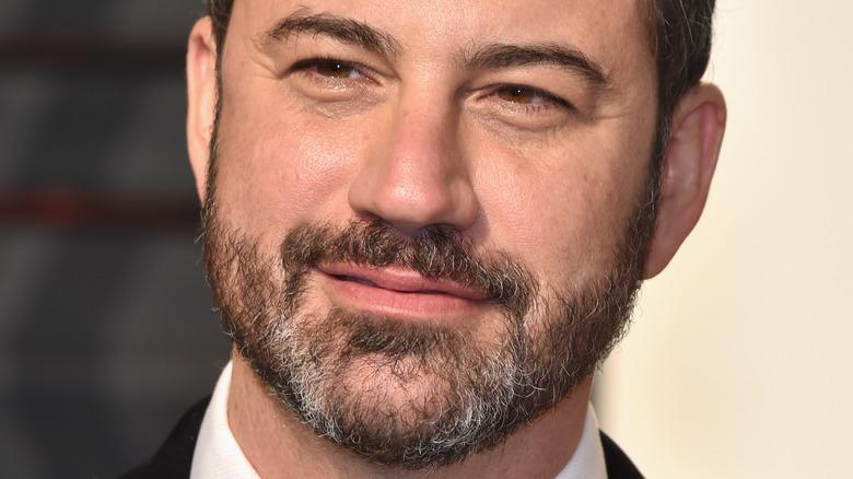 Jimmy Kimmel smiling for cameras