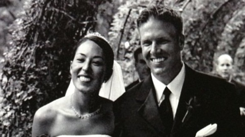 Chip and Joanna Gaines' wedding photo