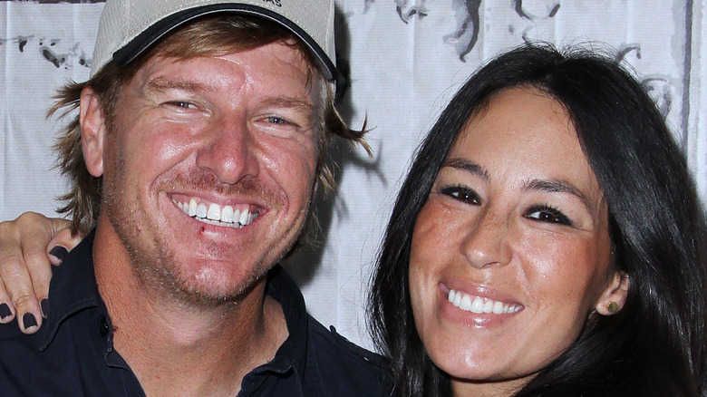 Chip and Joanna Gaines smiling