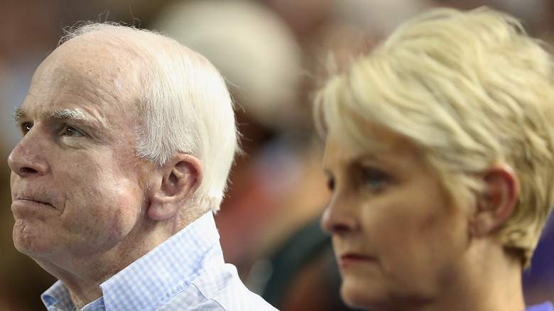 John and Cindy McCain pictured together