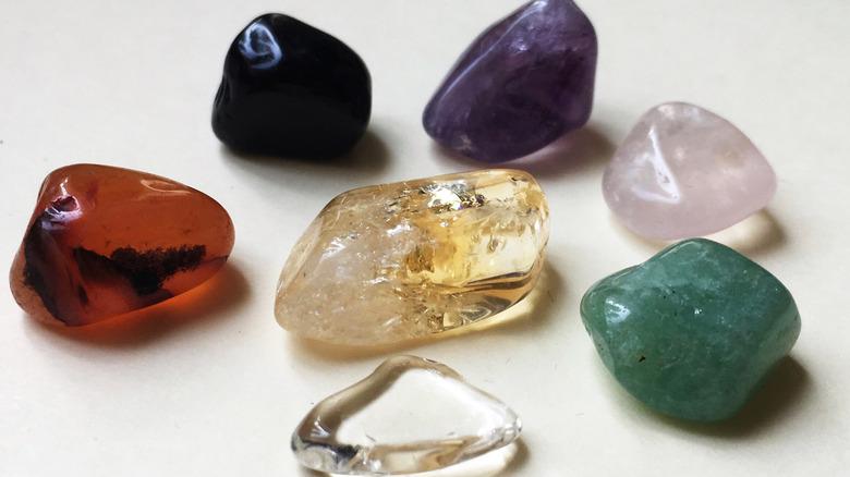 assortmant of crystals