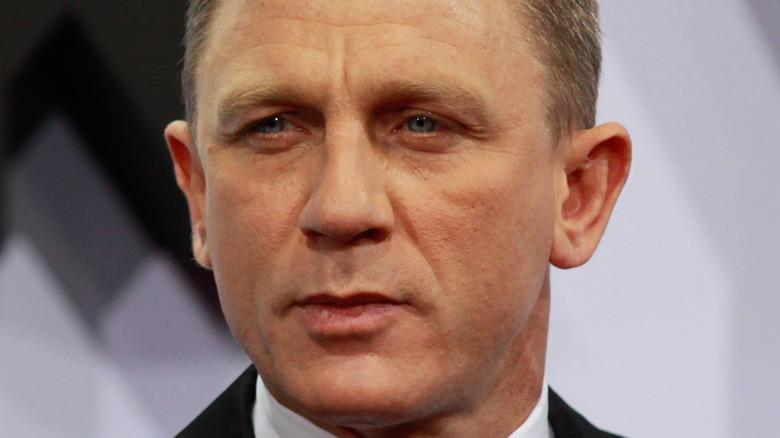 Daniel Craig at the premiere of Skyfall
