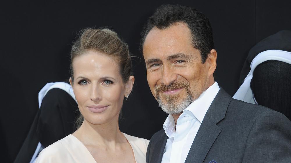 Demián Bichir and late wife Stefanie Sherk