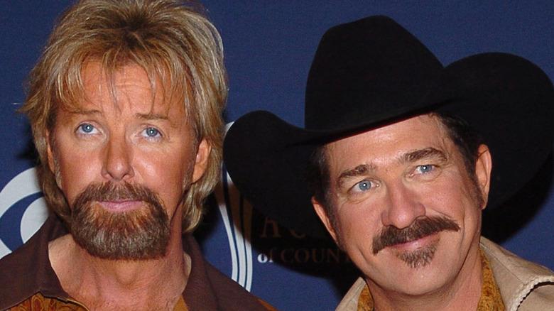 Brooks & Dunn attending an event