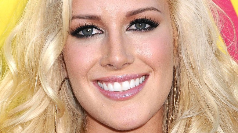 Heidi Montag smiling for a picture