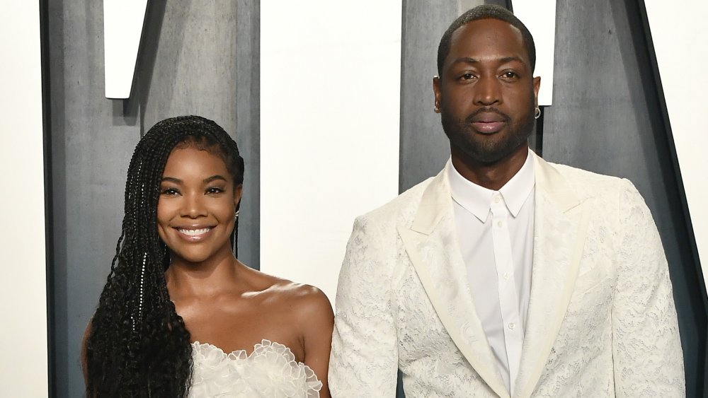 Dwayne Wade and his wife Gabrielle Union