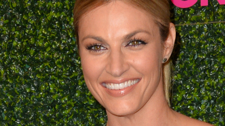 Close up of sportscaster, Erin Andrews smiling