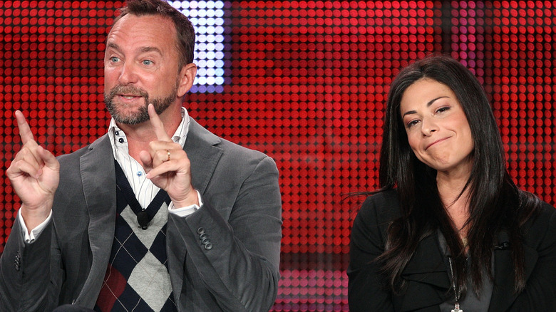 Stacy London and Clinton Kelly
