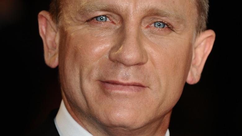 Daniel Craig in a tuxedo at the Skyfall premiere