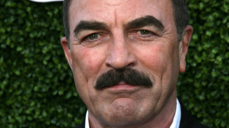 Tom Selleck at event