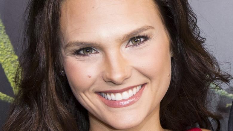 Cassandra Jean Whitehead (Amell) smiling