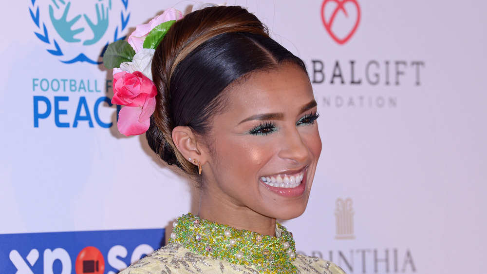 Melody Thornton smiling