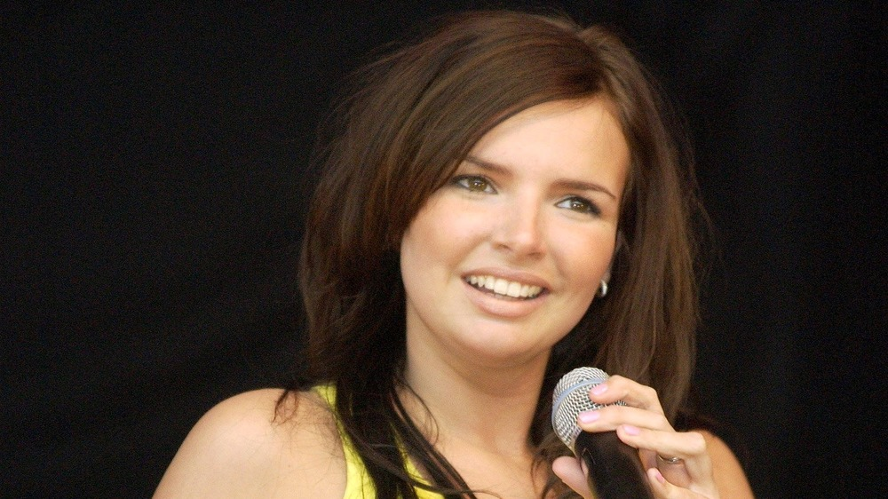 Nadine Coyle performing onstage
