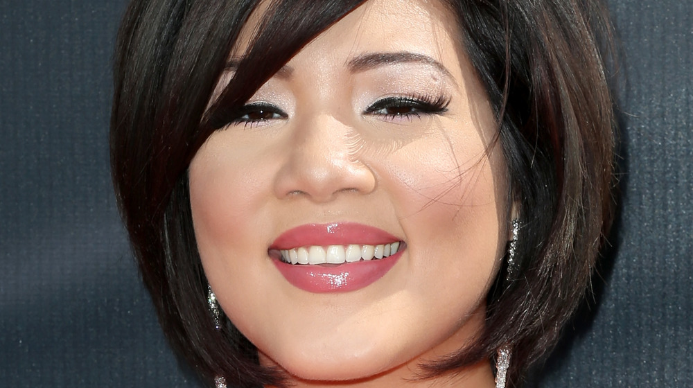 Tessanne Chin on the red carpet