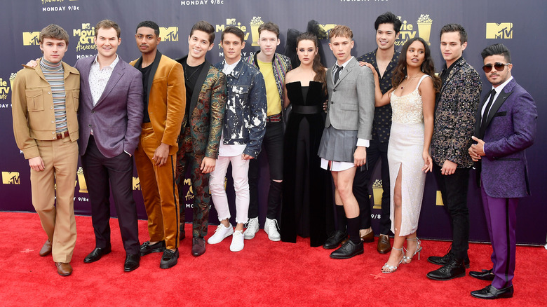 The cast of 13 Reasons Why
