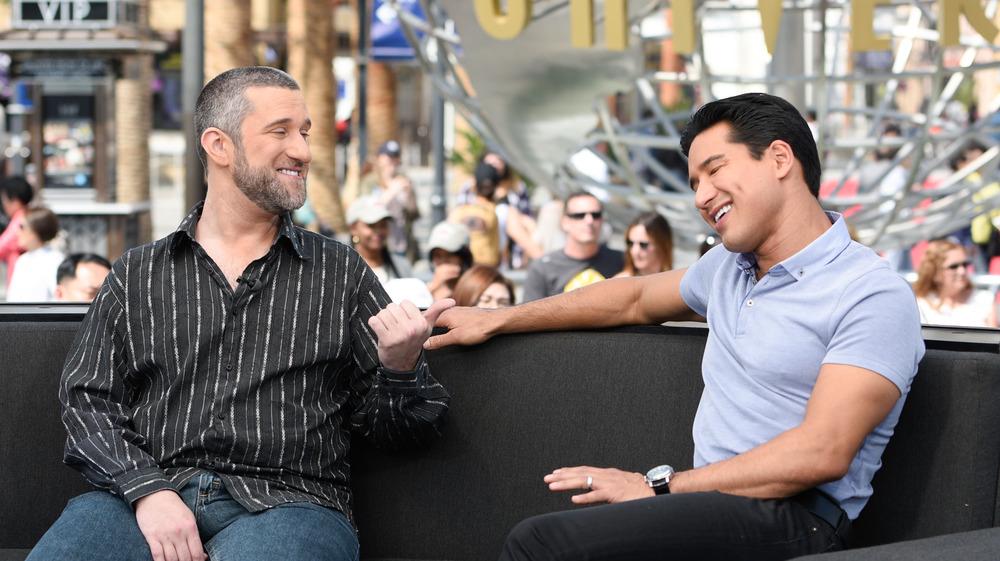 Dustin Diamond with Mario Lopez