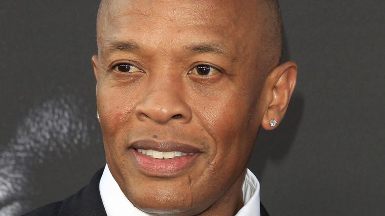 Dr. Dre smiling