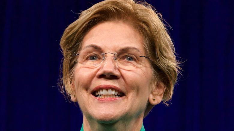 Elizabeth Warren at event