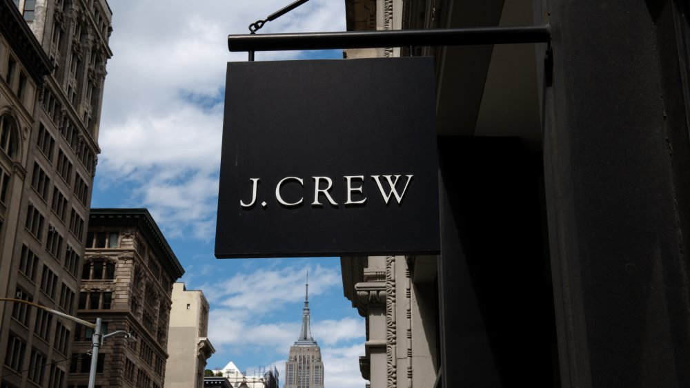 J.Crew sign