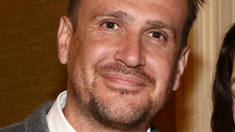 Jason Segel smiling at camera