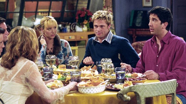 Brad Pitt appears on Friends