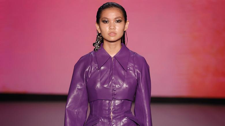 Miami Beach fashion show jacket