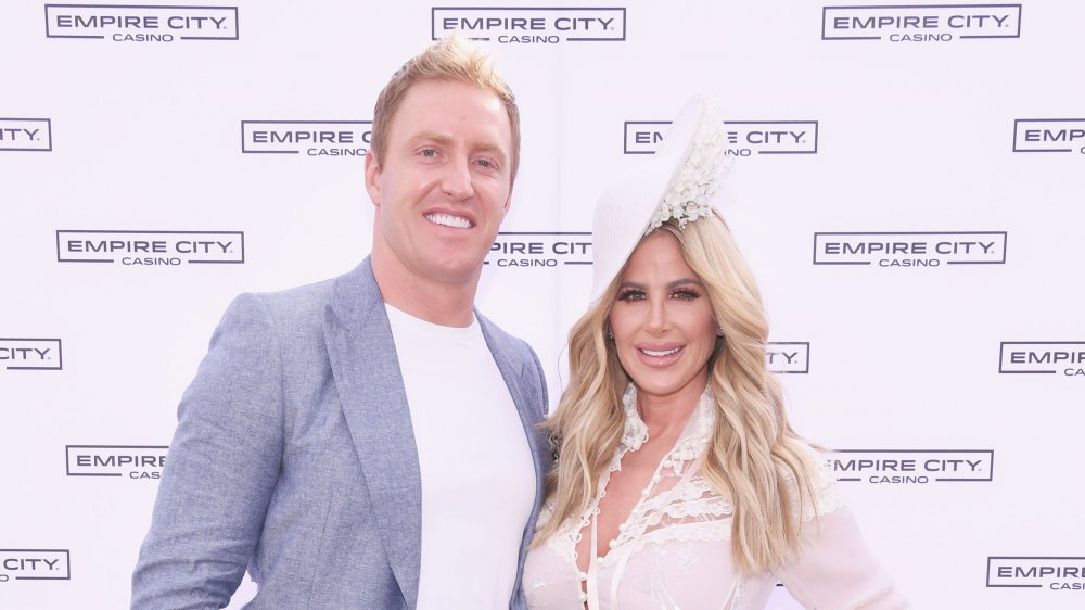 Kroy Biermann and his wife Kim Zolciak