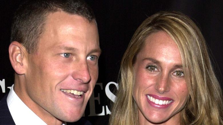 Lance Armstrong and Kristin Armstrong 2002