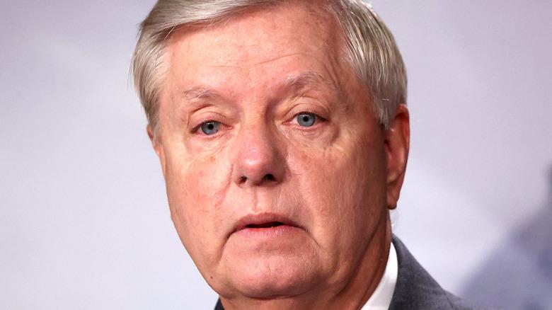 Senator Lindsey Graham looking ahead