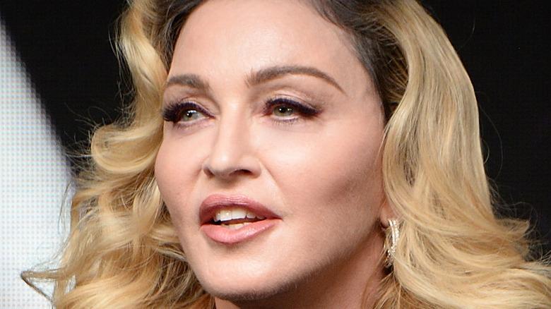 Madonna speaking