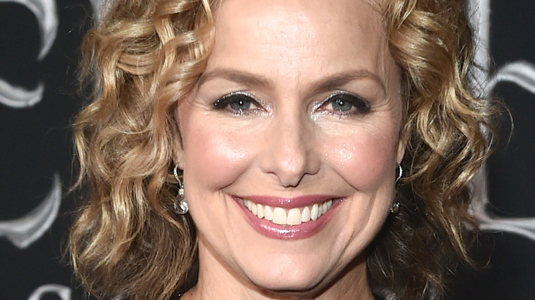 Melora Hardin attends an event in Hollywood.