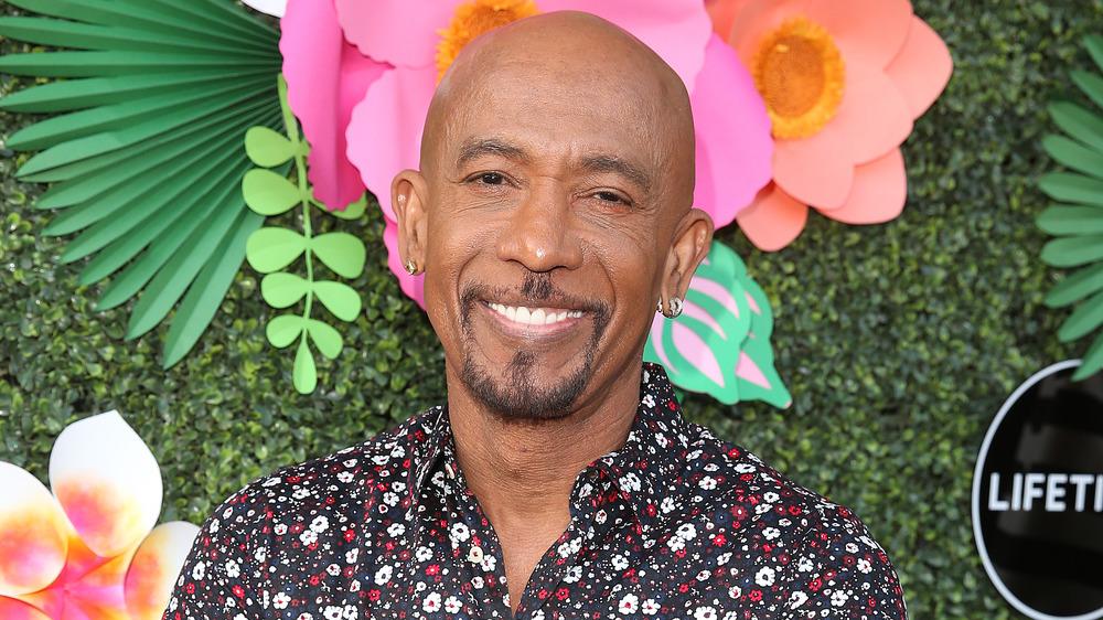 Montel Williams smiling