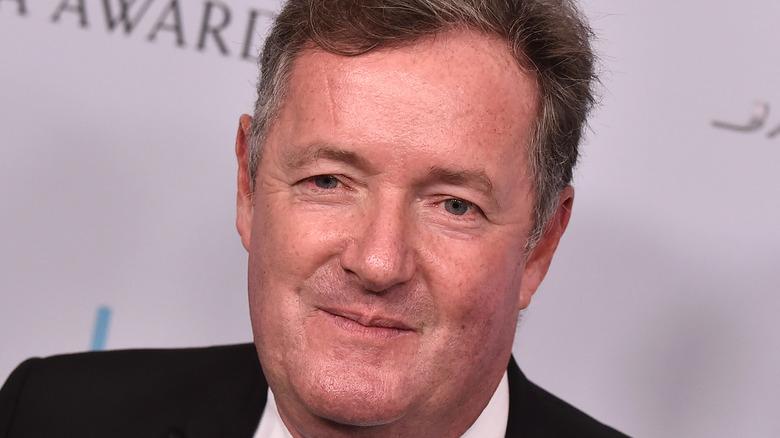 Piers Morgan close-up