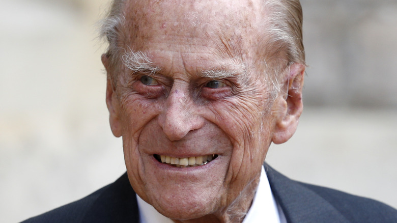 Prince Philip smile