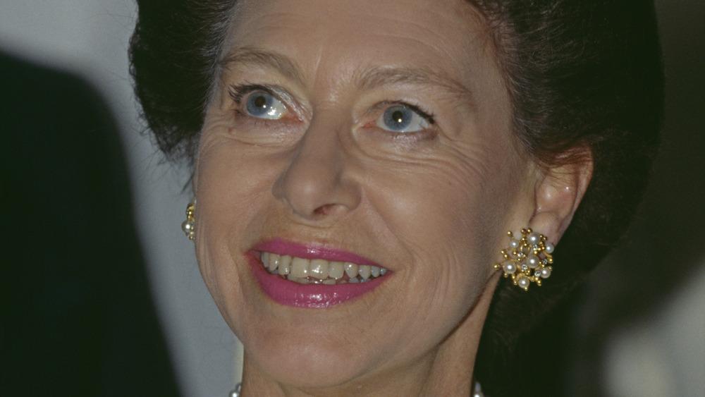 Princess Margaret smiling