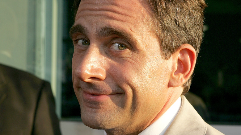 Actor Steve Carell grinning at the camera