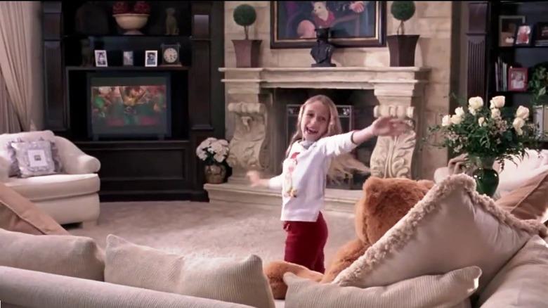Kylie George dancing
