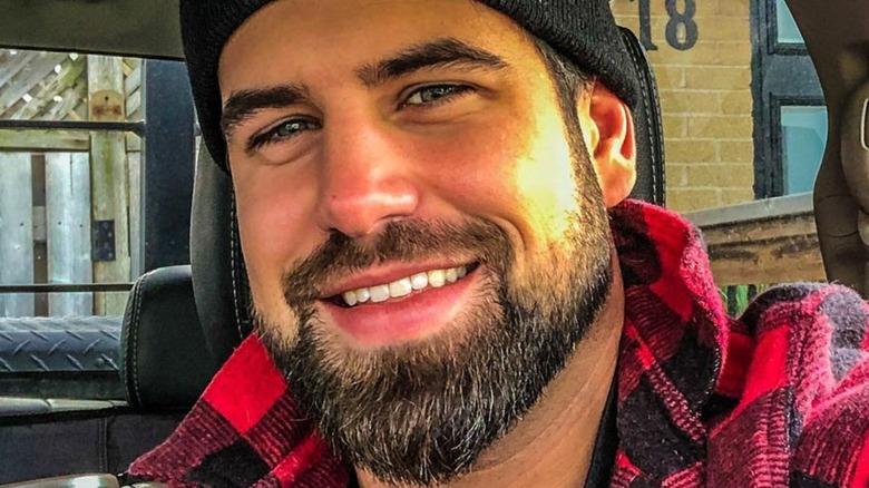close up of Blake Moynes