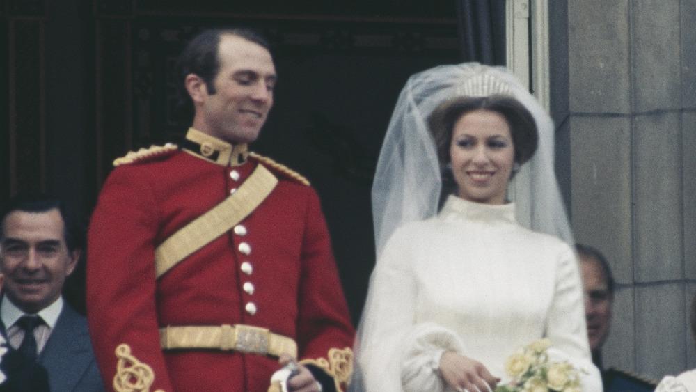 Princess Anne Captain Mark Phillips