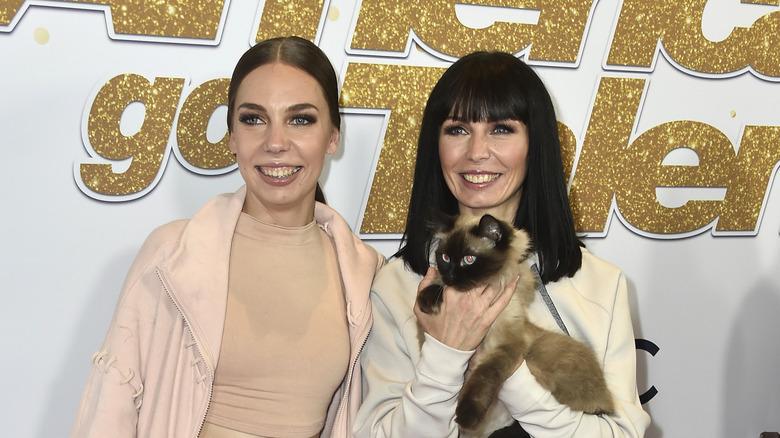 Marina and Svitlana Savitsky's Cats from America's Got Talent